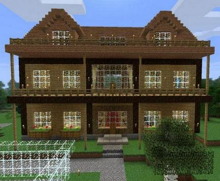 Simple Modern House Design for Minecraft apk screenshot