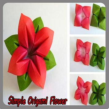 Simple origami flower for android apk download simple origami flower screenshot 6 mightylinksfo