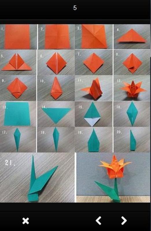 Simple origami flower apk download free lifestyle app for android simple origami flower apk screenshot mightylinksfo