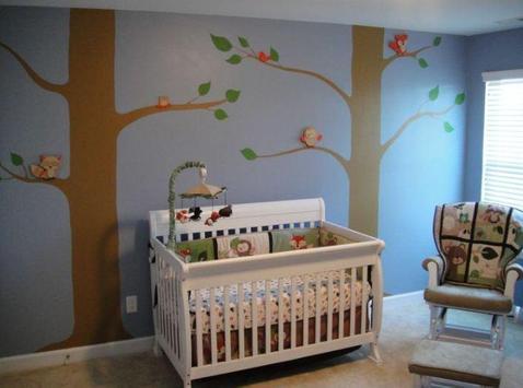 Simple Baby Bedroom Ideas screenshot 5