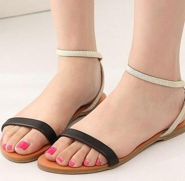 Simple Flat Sandals apk screenshot