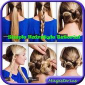 Simple Hairstyle Tutorial icon