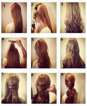 Simple Hairstyle Tutorial apk screenshot