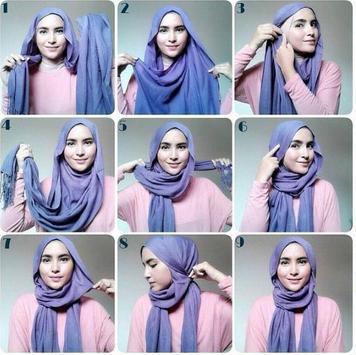 Simple Hijab Tutorial screenshot 4