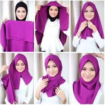 Simple Hijab Tutorial screenshot 5