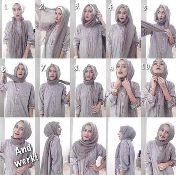 Simple Hijab Tutorial screenshot 6