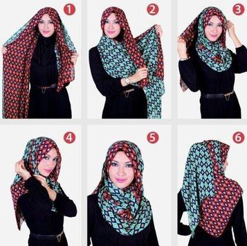 Simple Hijab Tutorial screenshot 7