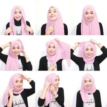 Simple Hijab Tutorial screenshot 1