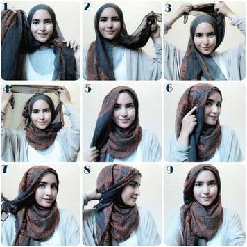 Simple Hijab Tutorial screenshot 2