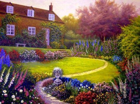 Simple Home Garden Ideas poster