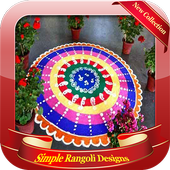 Simple Rangoli Designs icon