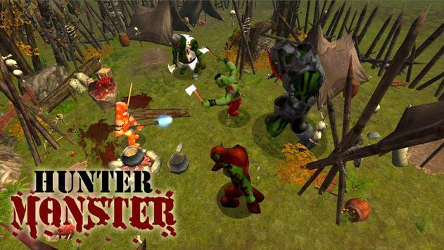 Hunter Monster poster
