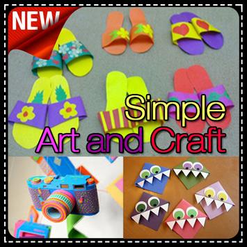 Simple art and Craft poster