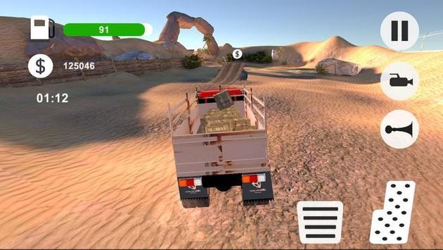 OffRoad Desert Truck Simulator poster
