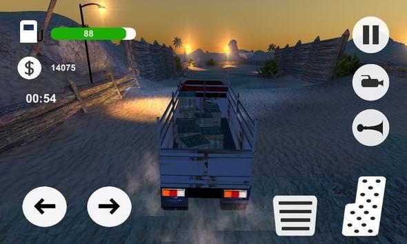 OffRoad Desert Truck Simulator screenshot 10