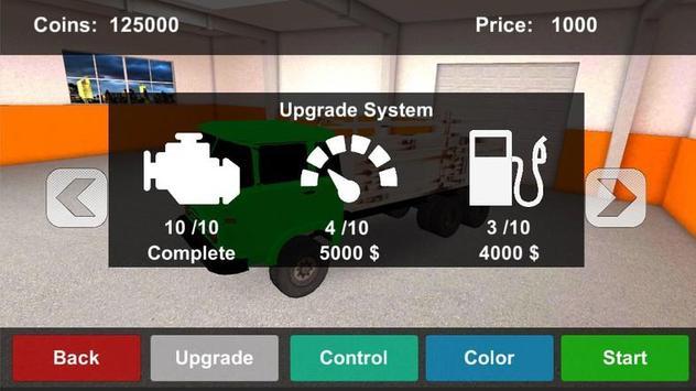 OffRoad Desert Truck Simulator screenshot 2