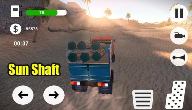 OffRoad Desert Truck Simulator screenshot 9