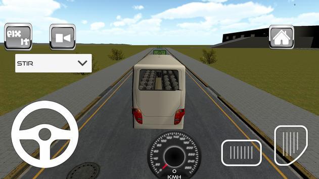 Indonesia Bus Simulator 3D poster