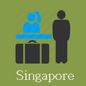 Singapore Hotels and Flights icon