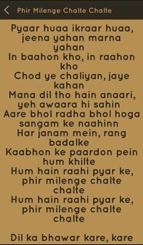 Hit Sonu Nigam Songs Lyrics screenshot 13