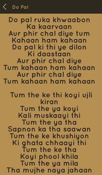 Hit Sonu Nigam Songs Lyrics screenshot 14