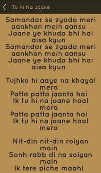 Hit Sonu Nigam Songs Lyrics screenshot 18