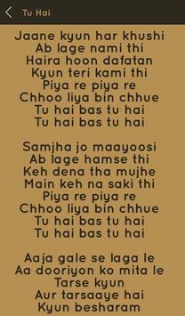 Hit Sonu Nigam Songs Lyrics screenshot 20