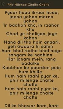 Hit Sonu Nigam Songs Lyrics screenshot 21