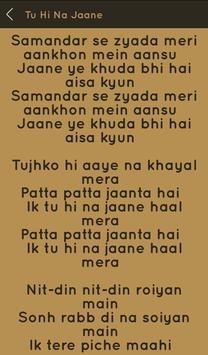 Hit Sonu Nigam Songs Lyrics screenshot 2