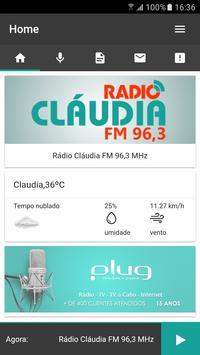 Radio Claudia FM poster