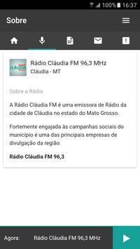 Radio Claudia FM screenshot 1