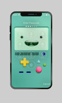 Funny Popular Emoji Love Monkey PIN AppLock screenshot 1