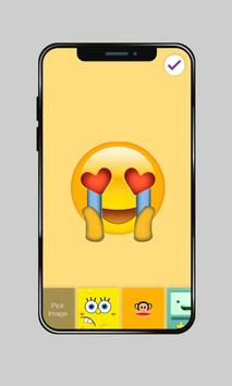 Funny Popular Emoji Love Monkey PIN AppLock screenshot 2