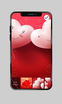 Pink Heart Valentine Day Sweet Love PIN Lock screenshot 2