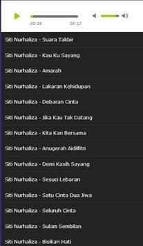 Siti Nurhaliza MP3 apk screenshot