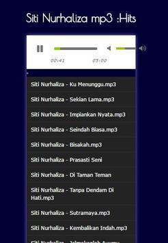 Siti Nurhaliza mp3: Hits screenshot 7