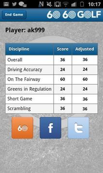60 60 Golf screenshot 5