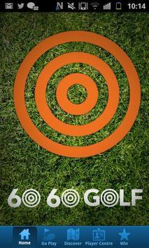 60 60 Golf poster