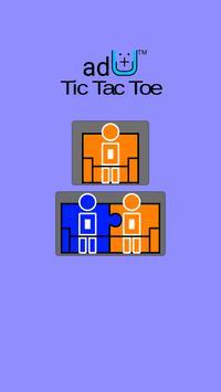 ad+U™ Tic Tac Toe poster