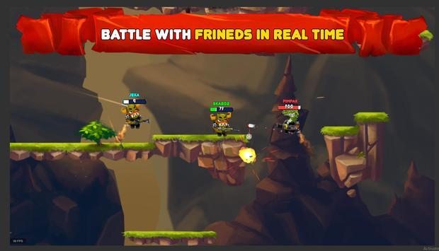 Brawl Of Heroes : Online 2D shooter screenshot 13