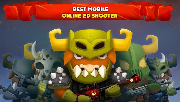 Brawl Of Heroes : Online 2D shooter screenshot 14