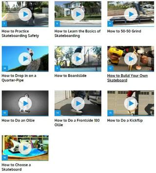 Skateboarding Skills apk screenshot