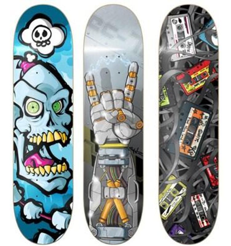 skateboard decks design apk screenshot