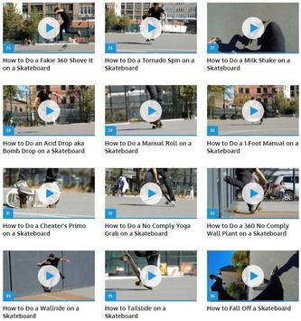 Skateboarding Tricks apk screenshot