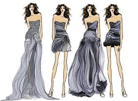 Sketch Fashion Design apk screenshot