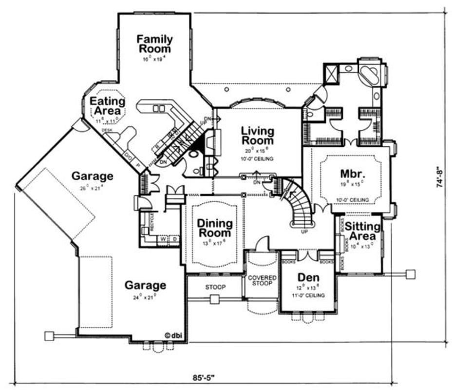 Sketsa rencana rumah apk download gratis rumah griya for House plans with rv storage
