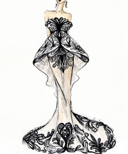 Bocetos De Diseño Vestido De Noche For Android Apk Download