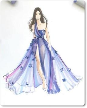 Sketches Design Evening Dresses 2018 screenshot 1