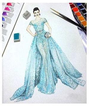 Sketches Of Fashion Design screenshot 10