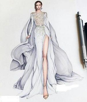 Sketches Of Fashion Design screenshot 1